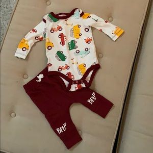 Cat & Jack - Boys Outfit 3-6 months